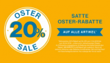 Camp David – 20 % Rabatt im Oster Sale
