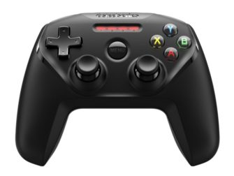 Steel Series Nimbus, Game Controller für Apple TV/iOS, schwarz